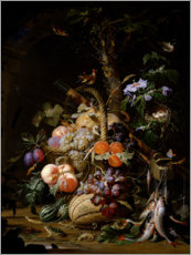 Abraham Mignon - Still life of fruit