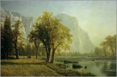 Albert Bierstadt - El Capitan, Yosemite Valley, Kalifornien