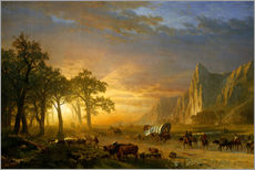 Albert Bierstadt - Emigrants Crossing the Plains