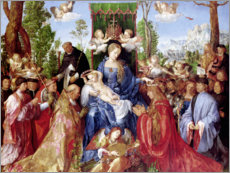 Albrecht Drer - Das Rosenkranzfest. 1506