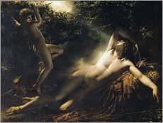 Anne Louis Girodet de Roucy-Trioson - Der Schlaf des Endymion 
