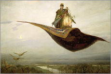 Apollinari Mikhailovich Vasnetsov - The Magic Carpet
