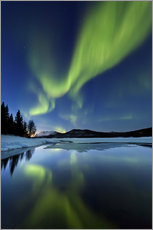 Arild Heitmann - Aurora Borealis over Sandvannet Lake in Troms County, Norway.