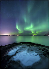 Arild Heitmann - Aurora Borealis over Vagsfjorden outside of Harstad in Northern Norway.