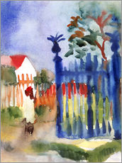 August Macke - Gartentor. 1914
