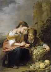 Bartolome Esteban Murillo - Die kleine Obsthndlerin. Um 1670/75