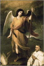 Bartolome Esteban Murillo - Erzengel Raphael mit dem Bischof Domonte