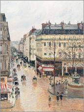 Camille Pissarro - Rue Saint-Honor� am Nachm.
