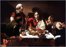 Michelangelo Merisi (Caravaggio) - Das Abendmahl in Emmaus