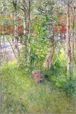 Carl Larsson - A Nap Outdoors