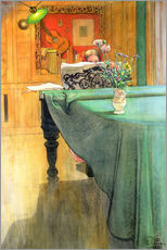 Carl Larsson - Brita at the Piano, 1908