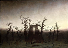 Caspar David Friedrich - Abtei im Eichwald