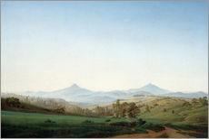 Caspar David Friedrich - Bhm.Landschaft Millesch.