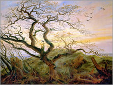 Caspar David Friedrich - Der Krhenbaum