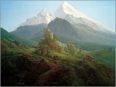 Caspar David Friedrich - Der Watzmann