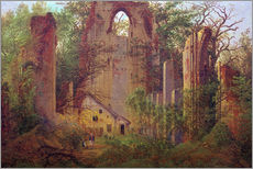 Caspar David Friedrich - Klosterruine Eldena