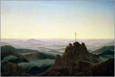 Caspar David Friedrich - Morgen im Riesengebirge. Um 1810