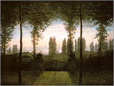 Caspar David Friedrich - Remembrance of Johann Bremen