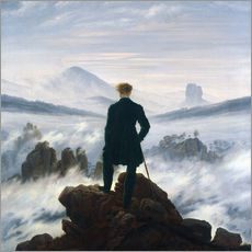 Caspar David Friedrich - Wanderer ber Nebelmeer