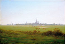 Caspar David Friedrich - Wiesen bei Greifswald