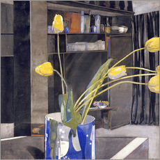 Charles Rennie Mackintosh - Yellow Tulips, c.1922-23