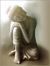 Christine Ganz - Ruhender Buddha
