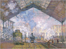 Claude Monet - Der Bahnhof von St. Lazare