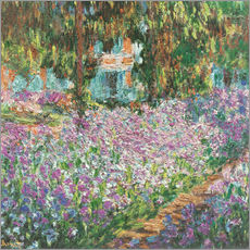 Claude Monet - The Artist's Garden at Giverny