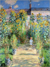 Claude Monet - Der Garten des Knstlers in Vetheuil
