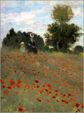 Claude Monet - Mohnfeld bei Argenteuil