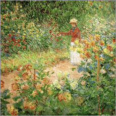 Claude Monet - Monets Garten in Giverny