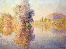 Claude Monet - Morning on the Seine at Giverny, 1893