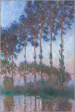 Claude Monet - Poplars on the Banks of the Epte