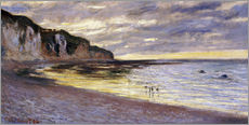 Claude Monet - Pointe De Lailly, Maree Basse, 1882