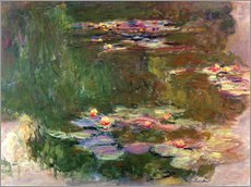 Claude Monet - The Lily Pond, c.1917