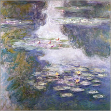 Claude Monet - Waterlilies, Nympheas, 1908