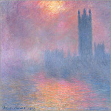 Claude Monet - Palace of Westminster