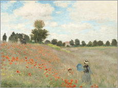 Claude Monet - Wilde Pappeln bei Argenteuil
