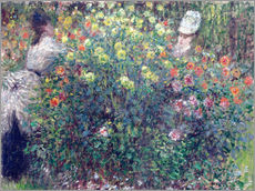 Claude Monet - Frauen in den Blumen