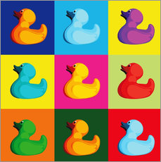 coico - pop art duck