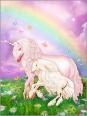  Dolphins DreamDesign - Einhorn Regenbogenzauber