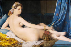 Jean Auguste Dominique Ingres - Die Groe Odaliske 