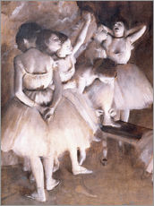 Edgar Degas - Ballettprobe auf der Bhne