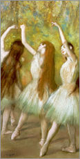 Edgar Degas - Green Dancers, 1878