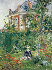 Edouard Manet - Marguerite im Garten von Bellevue. 1880