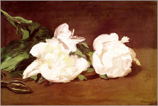 Edouard Manet - Branch of White Peonies and Secateurs