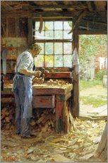Edward Henry Potthast - Village Carpenter, 1899