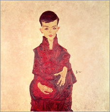 Egon Schiele - Rainerbub