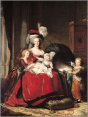 Elisabeth Louise Vigee-Lebrun - Marie-Antoinette