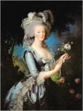 Elisabeth Louise Vigee-Lebrun - Marie Antoinette